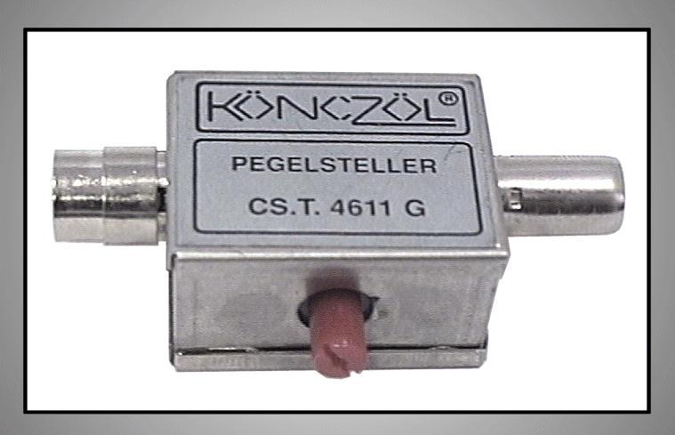Koax csillapítható szabályozható FC-100 SZAB.CX