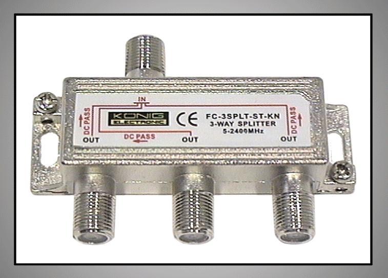 3 xelosztó 5-2400MHz DC iránycsatolt FC-503