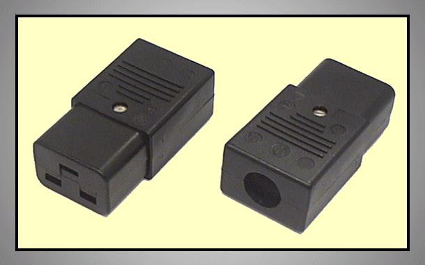 AC/PC 230V 16A aljzat 3p.(lengő) CSAT-P012/ICE