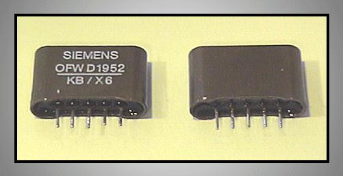 KF hullámszűrő 38.9MHz 6.5MHz D/K OFWD1952
