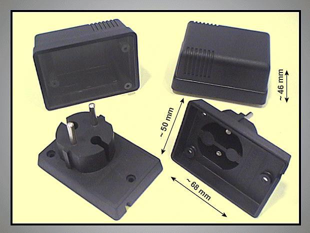 230V POWER BOX 70x52x38mm BOX P.SUP-3
