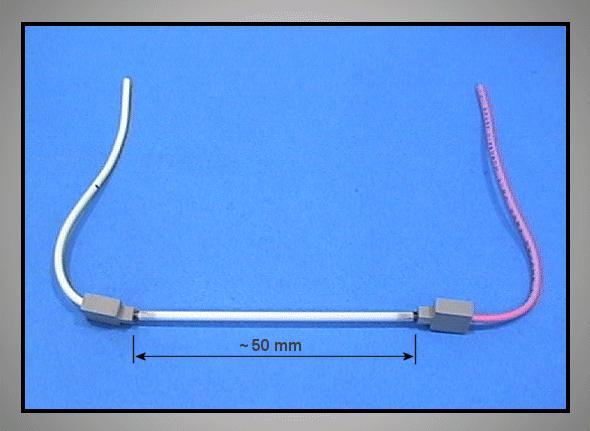 50mm -es LCD LAMPA QLL0125-001 LAMP LCD05001