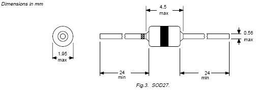 DIAC 28..36V Ib<0.1mA Itsm=2A BR100/03