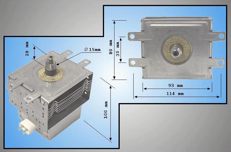 MAGNETRON SAMSUNG OM75P(31)ESGN MAGNETRON 172/5