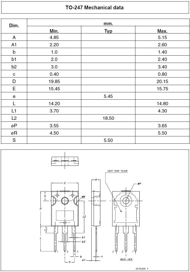 SI-P 100V 25A 125W >3MHz NF/L TIP36C