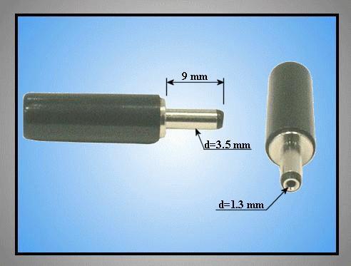 DC dugó L=29mm 3.5x1.3x 9mm CSAT-P0035/13