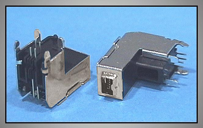 IEEE1394 Dig.Vid. 4p Mini aljzat CSAT-IEEE4M/SOD
