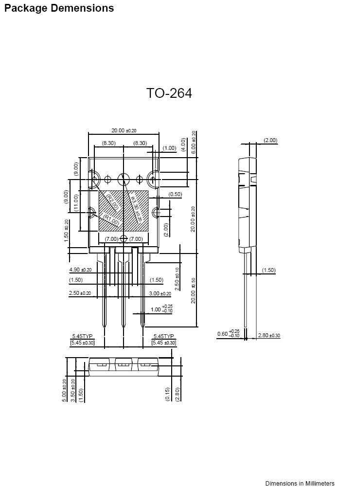 SI-N 1700/800V 20A/30Ap 200W 0.15uS FJL6920