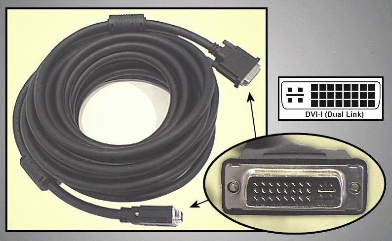 DVI dugó-DVI dugó D-link 10m CABLE DVID+10