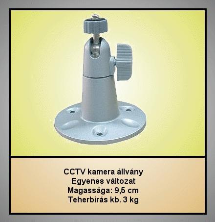 BIZTONSÁGI Kamera tartó Max: 3Kg //SEC. HC 004