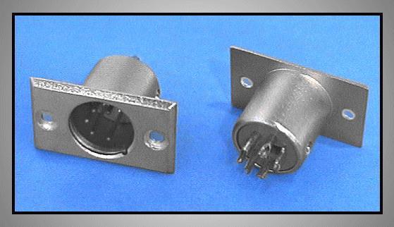 XLR dugó 5p. (beépíthető) XLR-5MC