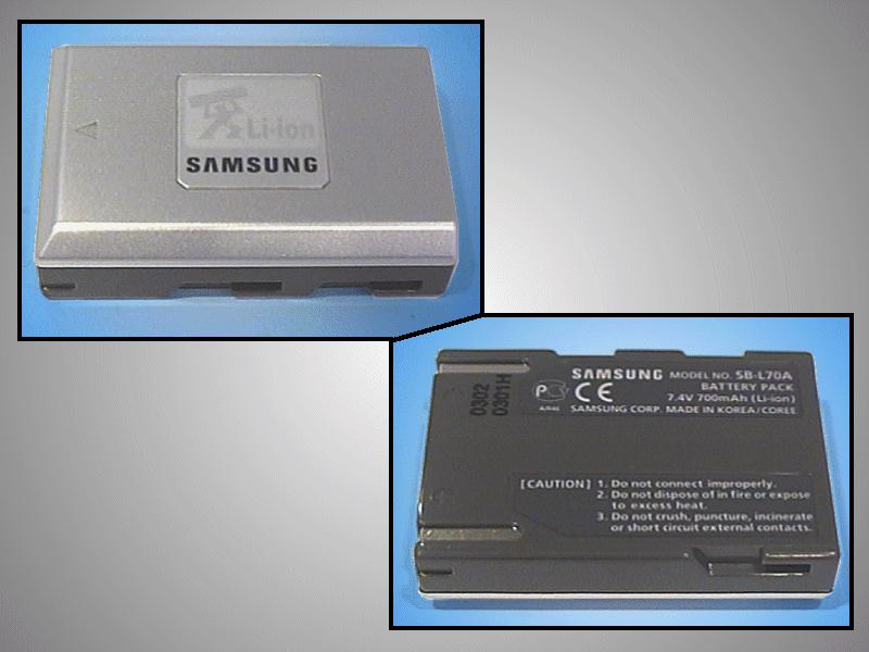 Kamera akkumulátor 7.4V 0.8Ah SB-L70A CAMC.015