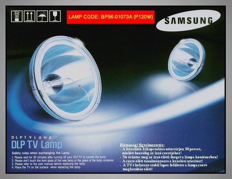 LAMP ASSY L6,L8(L620,L680),~ 61INCH LAMP 0104A