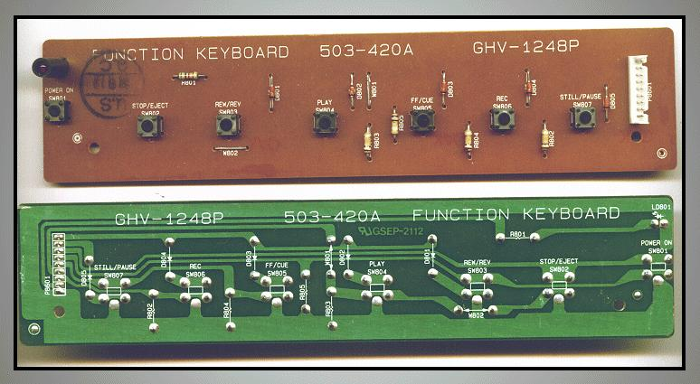 PWB FUNKTION SWITCH 511-420A