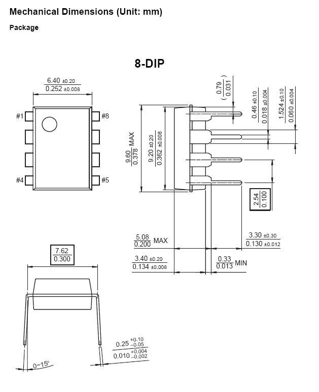 POWER SW.REG. 650V 2A 42W DIP-8 KA5M02659RN
