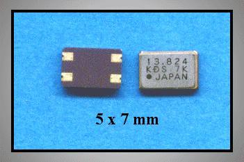 QUARTZ 13.824.000 MHz SMD 4p. 13.824 SMD