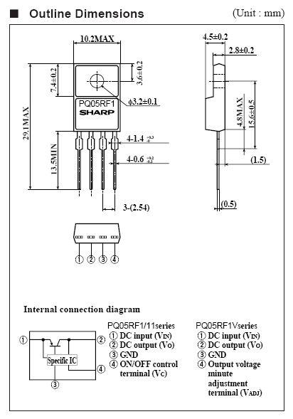 POS.V-REG.12V 1A +SW 4p. TO220 PQ12RF11