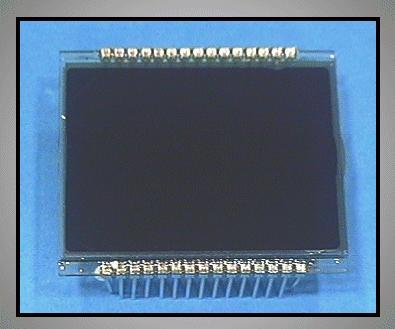 LCD DISPLAY 38x32mm AMI-960 LCD 0004
