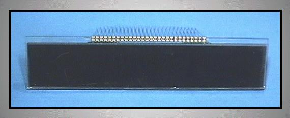 LCD CD DISPLAY 22x120mm MAX430 LCD 0101