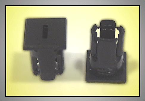 LED foglalat 5mm I betűs LEDH-SL238