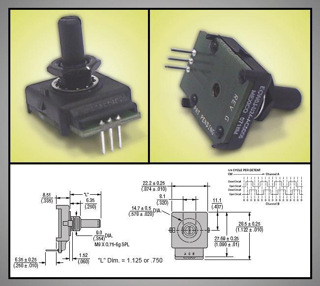 ENCODER 2-bit Gray code 6puls ECW0JB24AC0006L