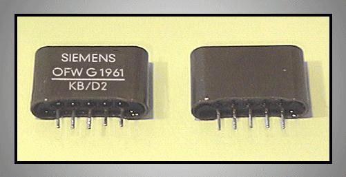 KF hullámszűrő 38.9MHz 5.5MHz B/G OFWG1961