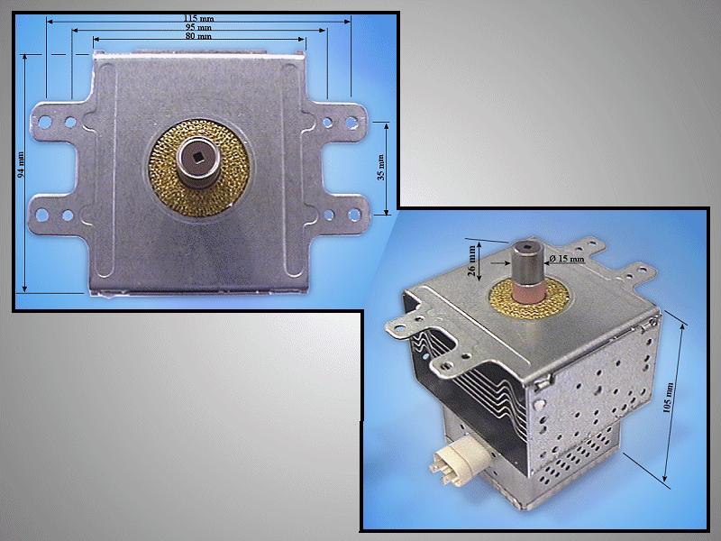 MAGNETRON PANASONIC 2M236-M42E2 MAGNETRON 006