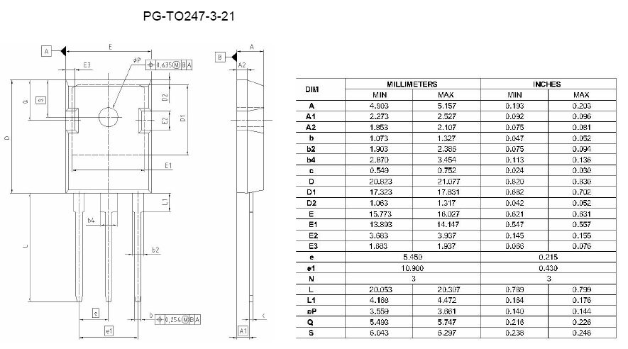 N-IGBT 1200V 60A/90Ap 330W Vce(sat)1.55V IHW30N120R5 -