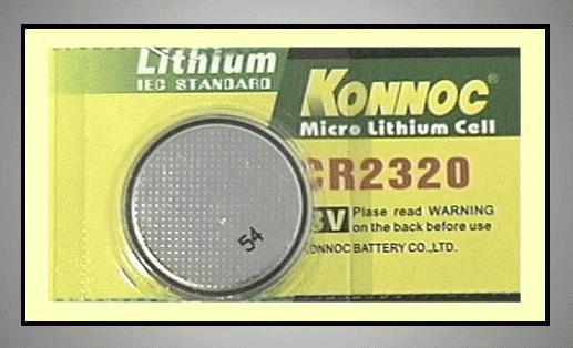 3V lítium elem GP CR2320-5C BAT CR2320
