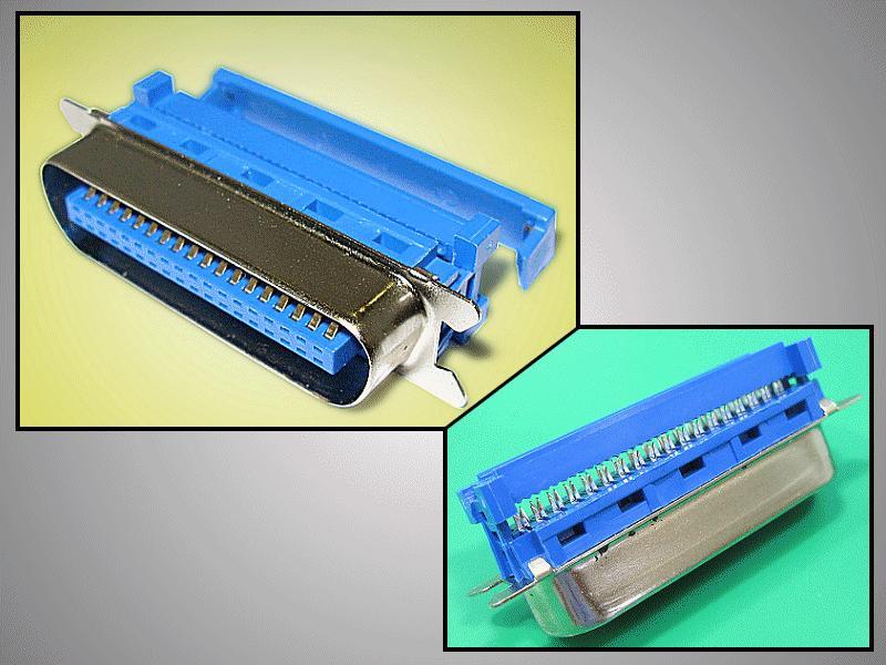 Centronics 36 pólusú csatlakozó szalagkábelhez CENTR-536
