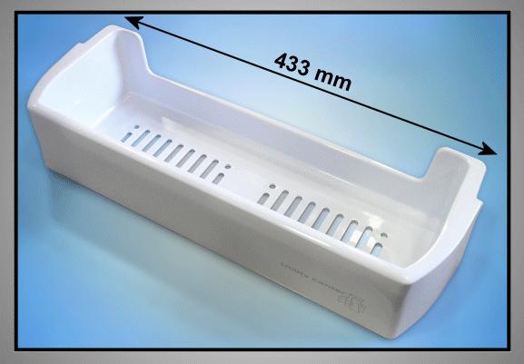 Hűtő ajtóba üveg tároló (felsők) W8-DA6300635E