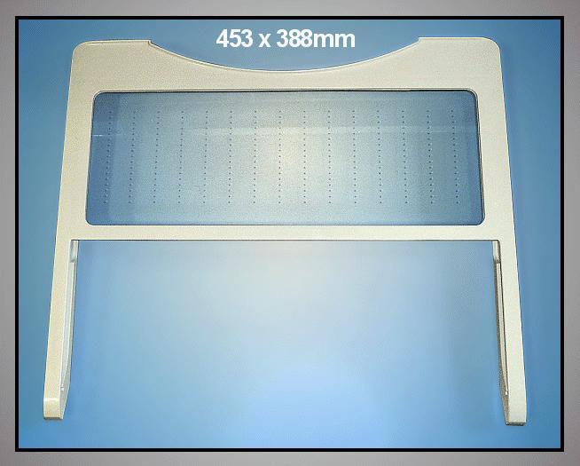 Hűtő üveg polc (összetolható) W8-DA6700901A