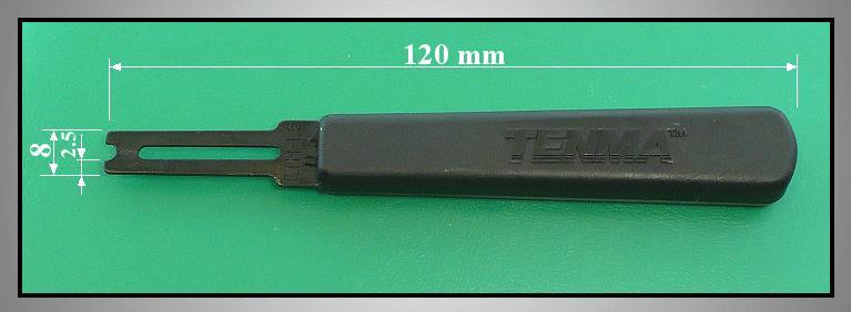 E-clips 1,5mm csavarhúzó VCR TOOL-08