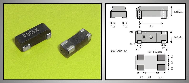 QUARTZ OSC PANASONIC VSX0530