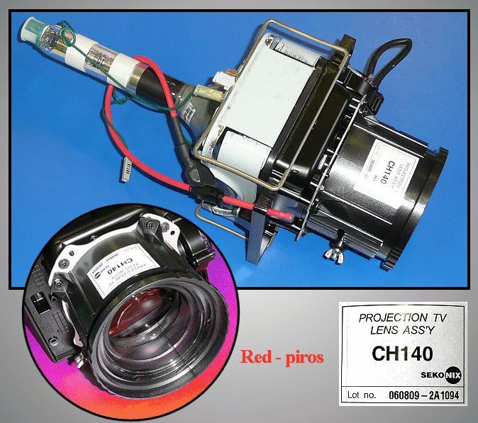 ASSY CPT-R / 43T8,P59A ( PIROS ) LAMP 0108