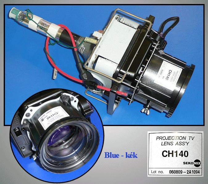 ASSY CPT-B / 43T8,P59A ( KÉK ) LAMP 0108/B