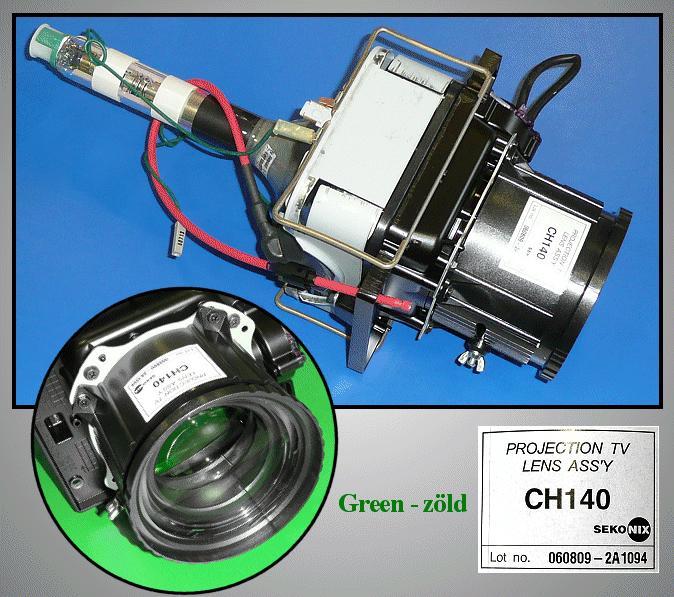 ASSY CPT-G / 43T8,P59A ( ZÖLD ) LAMP 0108/G