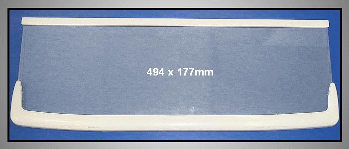 Osztott üvegpolc első része SRL36/39 W8-DA6700268A