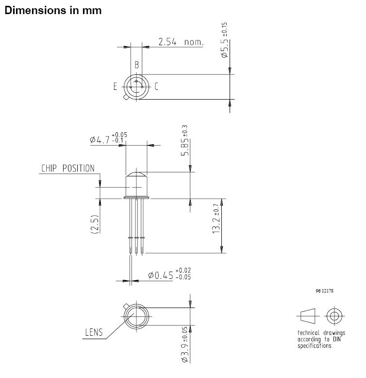 SI-N 120V 0.1A 0.6W >150MHz UN 2N3495 -