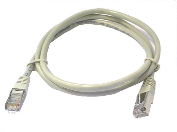 Cat.5E FTP patch kábel 1m 8p+F (árnyékolt) CCA CABLE FTP/01