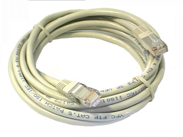 Cat.5E FTP patch kábel 3m 8p+F (árnyékolt) CCA CABLE FTP/03