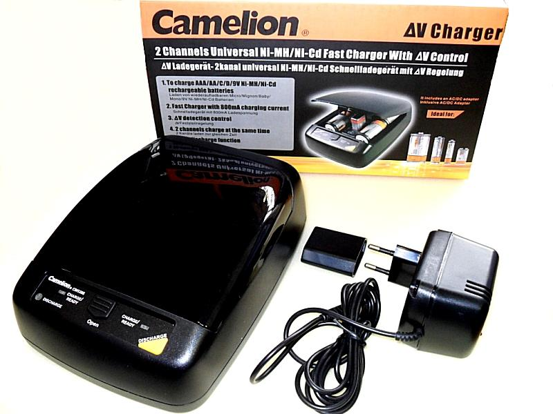 Ni-Cd/Ni-Mh akkumulátor töltő Cameion CM-9388-C1 ACCU CHARGER-16