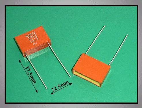 Kondenzátor 1uF 250V Non polar C 1U0 250/C22