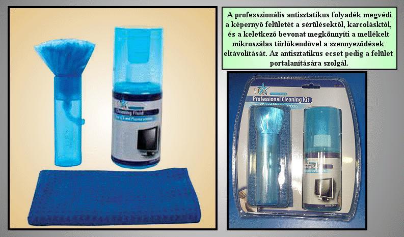 LCD-PLAZMA tisztító spray 200ml SPRAY TFT SET
