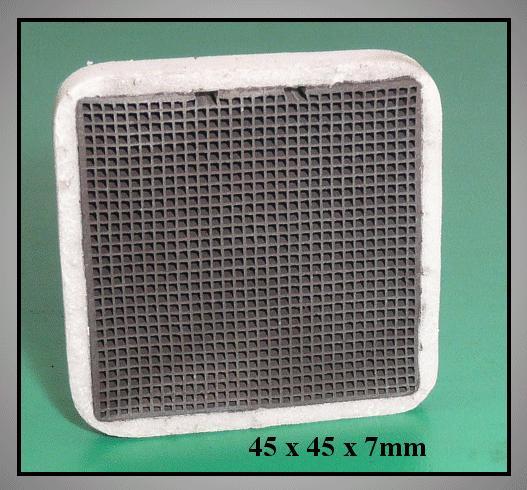 Aktív szénszűrő 45x45x7mm W8-DA0200060B
