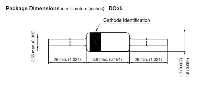 SI-D 75V 0.6A/4Ap. <6ns 4pF SS BAW27 -