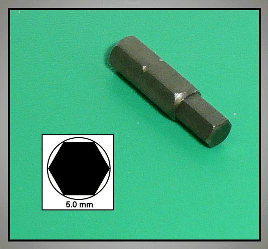 Hatszögü profil betét  5.0mm CK-4554/5.0