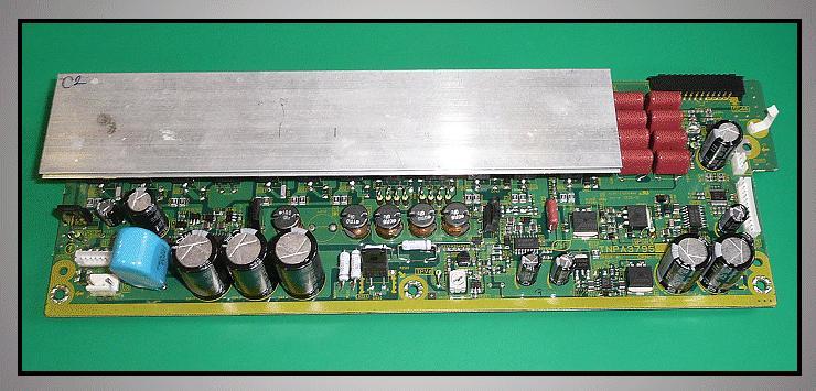 PC BOARD W/COMPONENT LCD TNPA3795AB