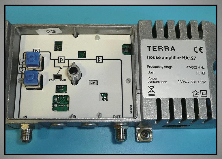 Antenna erősítő 47-862MHz, 1-OUT ANT AMP HA127 -