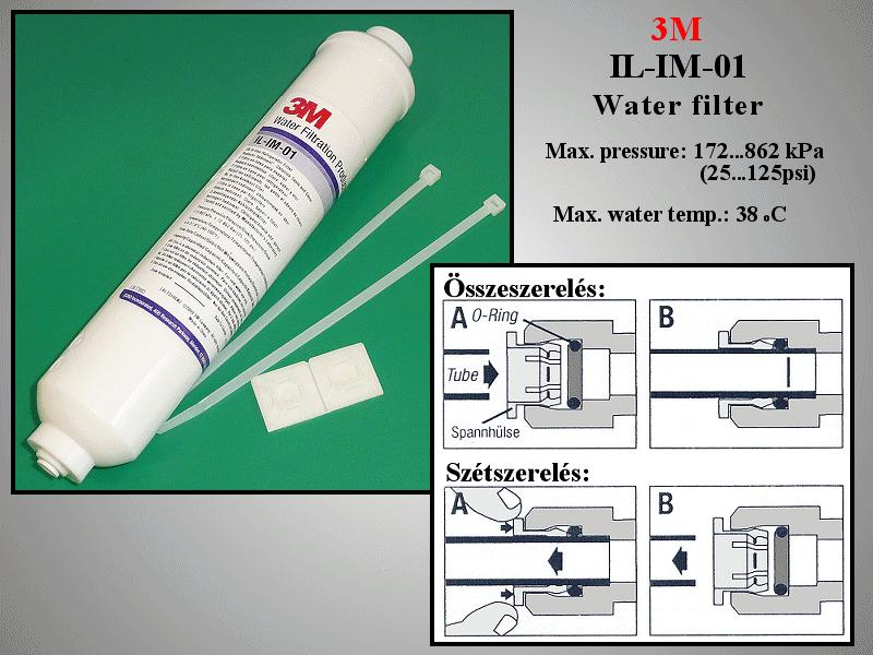 3M Vízszűrő IL-IM-01 (500Gallons) W8-DA2910105